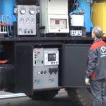 Серийная азотная станция модели ТГА 10/251 С95 [видео]