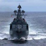 Защиту китайского танкера от пиратов обеспечивает российский БПК