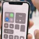 Пункт управления в iPhone X: как открыть и как включить фонарик без него