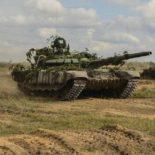 Т-72Б3 применили войска ЗВО на учениях «Запад-2017»
