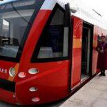 Трамвай на водородном топливе сдала в эксплуатацию китайская CRRC [видео]