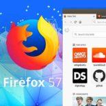 Firefox 57: как убрать «Избранное» из Новой вкладки браузера