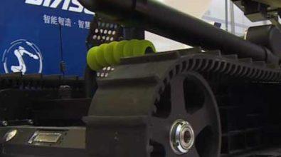 Китайские специалисты работают надо созданием автономного робота-сапёра [видео]