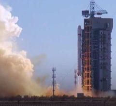 Китайская РН вывела на орбиту спутник дистанционного зондирования Земли [видео]