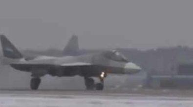 Су-57 успешно выполнил первый полёт с двигателем 2-го этапа [видео]