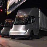 PepsiCo разместила предзаказ на 100 будущих Tesla Semi [видео]