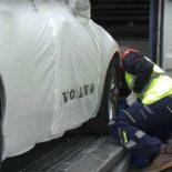 Более 8 тыс новых Volvo доставлено поездом из Китая в Европу всего за полгода