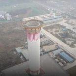 В китайском Сиане тестят мега-очиститель воздуха [видео]