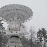 В обсерватории «Светлое» завершили монтаж нового радиотелескопа [видео]