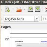 Опыт редактирования PDF-файла в LibreOffice Draw: получилось нормально