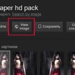 В полном размере / View Image: как вернуть эту кнопку в Google-Картинки