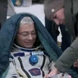 Посадка спускаемого аппарата «Союза МС-06» [видео]