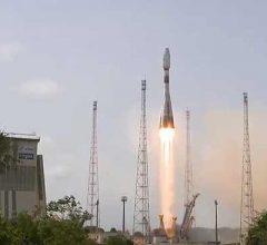 РН «Союз» успешно вывела на орбиту все четыре спутника O3b MEO [видео]