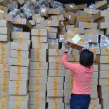 38% международных посылок в мире отправляются из Китая