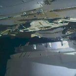 Стыковка грузового Dragon с МКС [видео]