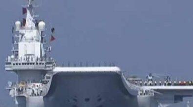 ВМС НОАК провели военно-морской парад в Южно-Китайском море [видео]