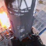 Испытательный запуск и посадка корабля New Shepard [видео]