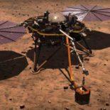 Трансляция посадки космического аппарата Mars InSight [видео]