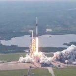 SpaseX успешно запустила Falcon 9 с новым разгонным Block 5 [видео]
