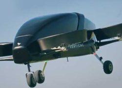 EVTOL-такси от компании Vertical Aerospace [видео]