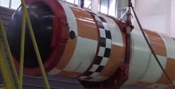 Испытание «Посейдона»: МО РФ показало фрагмент видео
