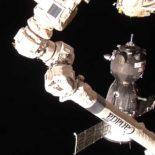 Стыковка пилотируемого «Союз МС-12» с МКС прошла успешно [видео]