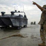 Китай испытал десантный дрон-амфибию Marine Lizard