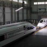 CRRC провела рекордный краш-тест высокоскоростных локомотивов [видео]