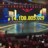 За первые 96 секунд «Дня холостяка» объем продаж на Tmall превысил 10 млрд юаней