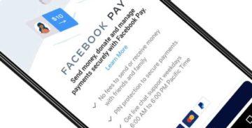 Facebook запускает в Штатах свою платежную систему Facebook Pay