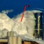 Взрыв прототипа Starship Mk1 на полигоне в Бока-Чика [видео]