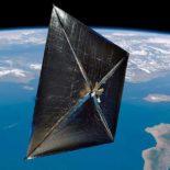 Китай испытывает на орбите солнечный парус SIASAIL-I