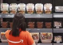 Amazon испытывает технологию оплаты покупок простым жестом руки