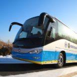 Foton успешно испытала автобусы на водородных элементах при минус 30 градусах