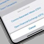 Как сохранить выписку из Apple Card в формате OFX