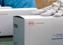 Китайская BYD сделала собственные 100 линий по производству масок [видео]