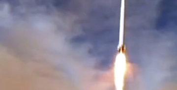 Запуск РН Qased с первым иранским военным спутником Noor [видео]