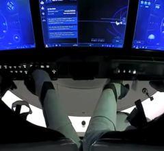 Посадка пилотируемого Crew Dragon [видео]