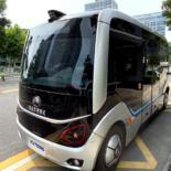 Автобус с автопилотом испытывают на улицах китайского Чжэнчжоу [видео]