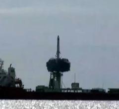Старт Чанчжэн-11 с 9 спутниками с морской платформы [видео]