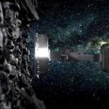 OSIRIS-REx дотянулся до поверхности астероида Бенну [видео]