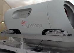Первые пассажирские испытания прототипа Hyperloop [видео]