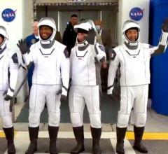 Запуск коммерческого пилотируемого Crew-1 к МКС [видео]
