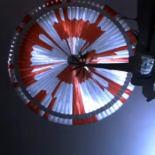 Видео посадки марсохода Perseverance с борта спускаемого аппарата