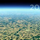 Как растут города, куда делись леса и пр — показывает Google Earth [видео]