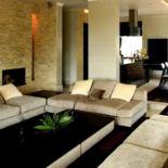 Декор современной гостиной — сила натурального камня