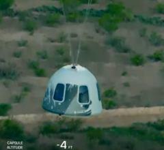 Суборбитальный полет корабля New Shepard с пассажирами [видео]