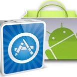 Магазины приложений App Store, Android Market и Marketplace: сравнение темпов роста