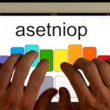 ASETNIOP: новая система набора текста для планшетов