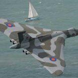 Последний полет старого Avro Vulcan XH558 [видео]